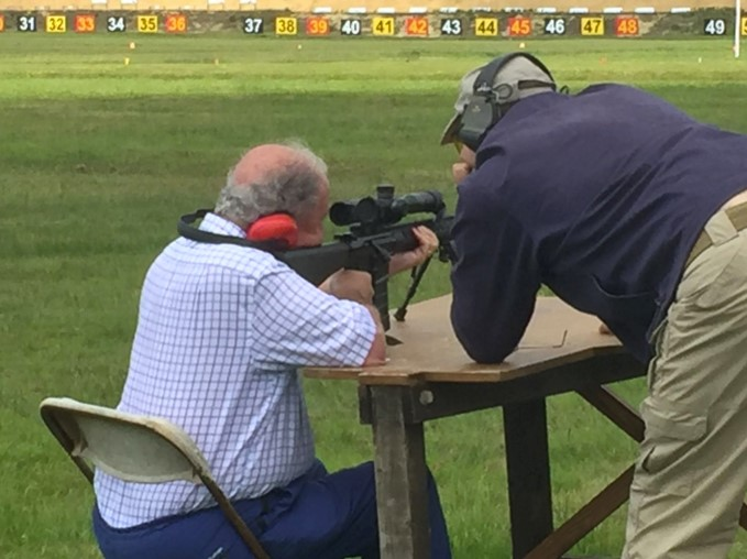 Livery Rifle Shooting At Bisley 2018