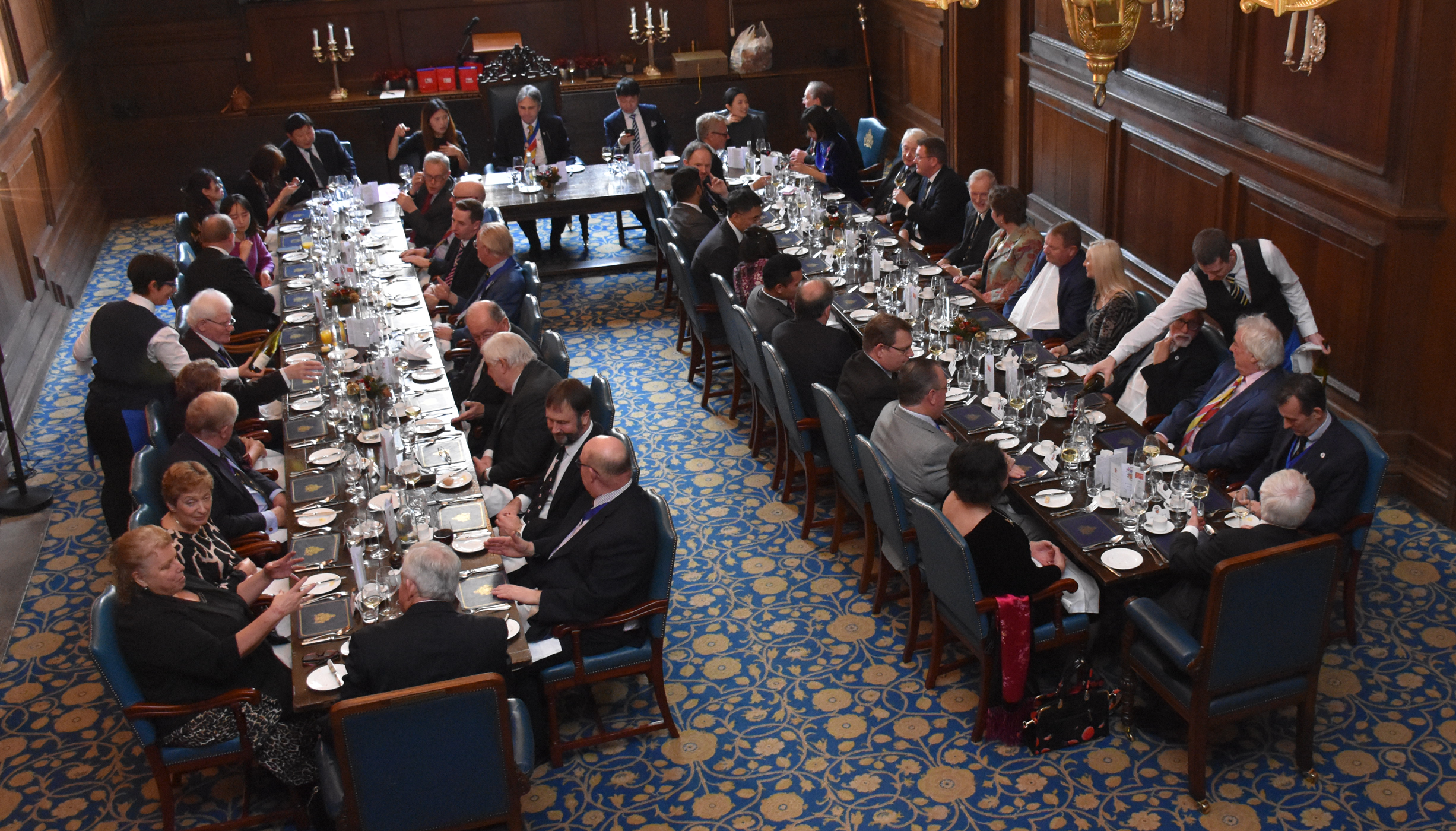 WCC Hosts Chinese Delegation To Lunch