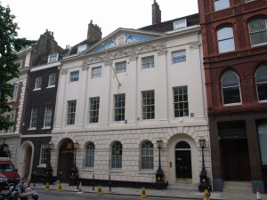 Skinners' Hall (1770-90) by W Jupp