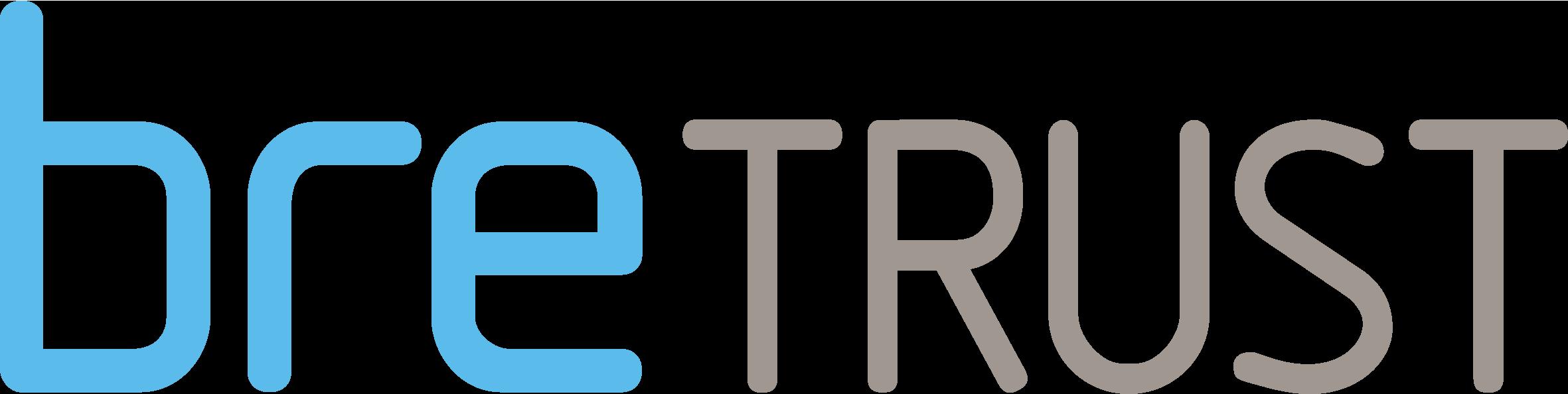 BRE Trust blue logo